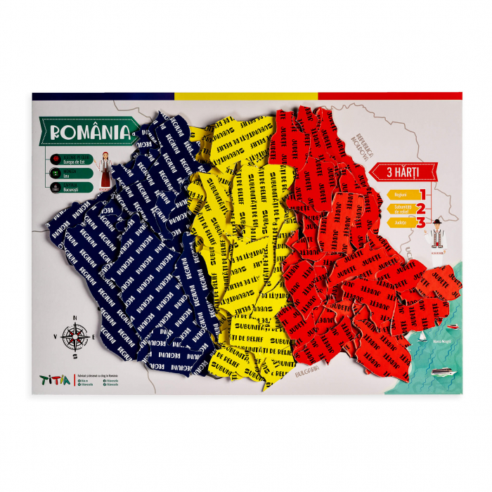 Construieste Romania - Puzzle stratificat 0
