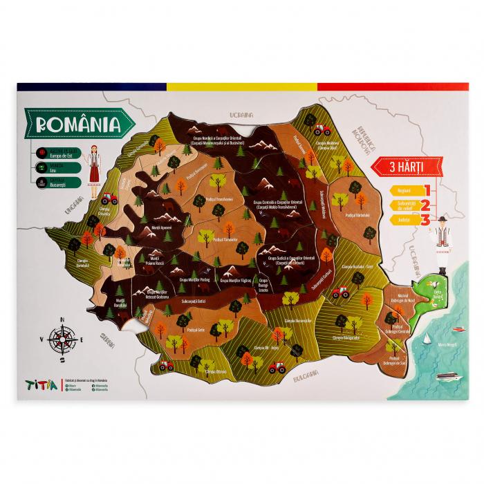 Construieste Romania - Puzzle stratificat 4