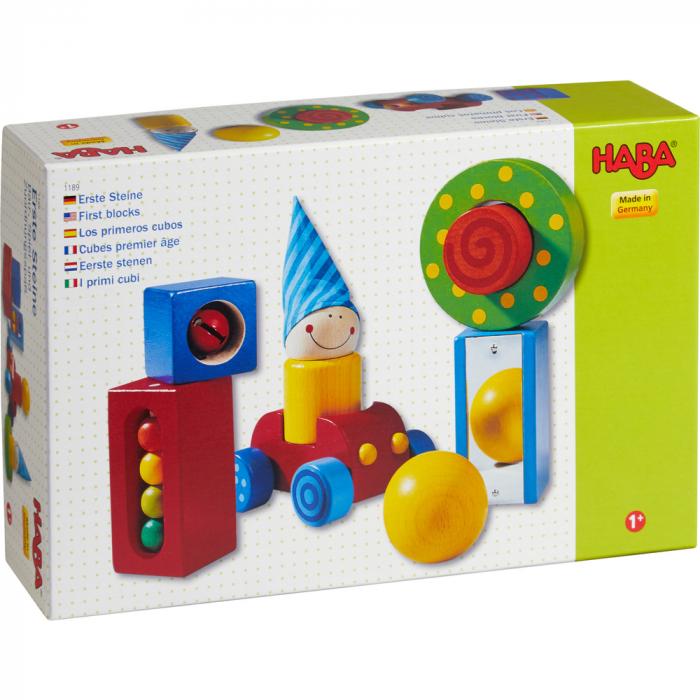Cuburi senzoriale - First blocks 3
