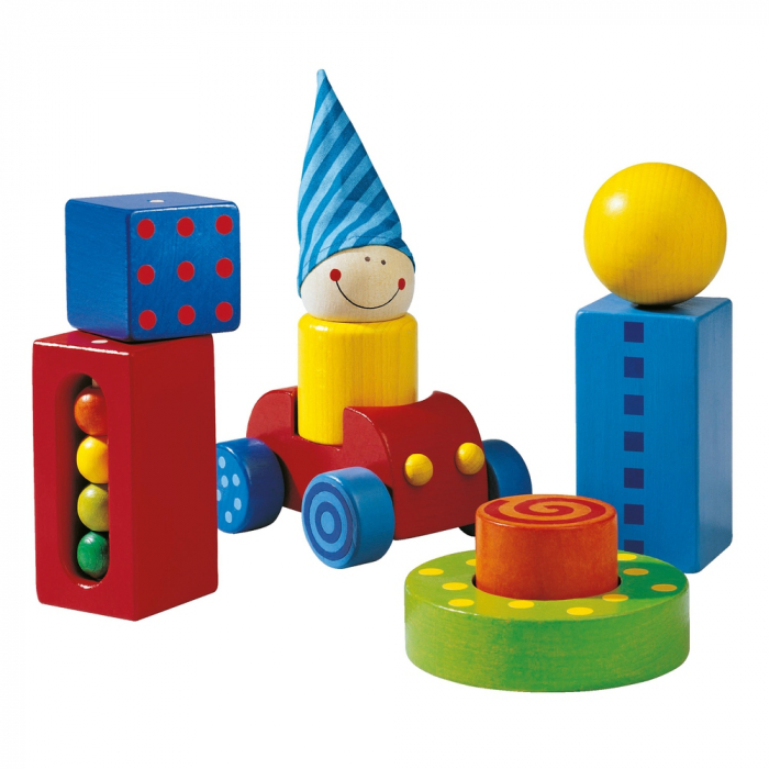 Cuburi senzoriale - First blocks 2