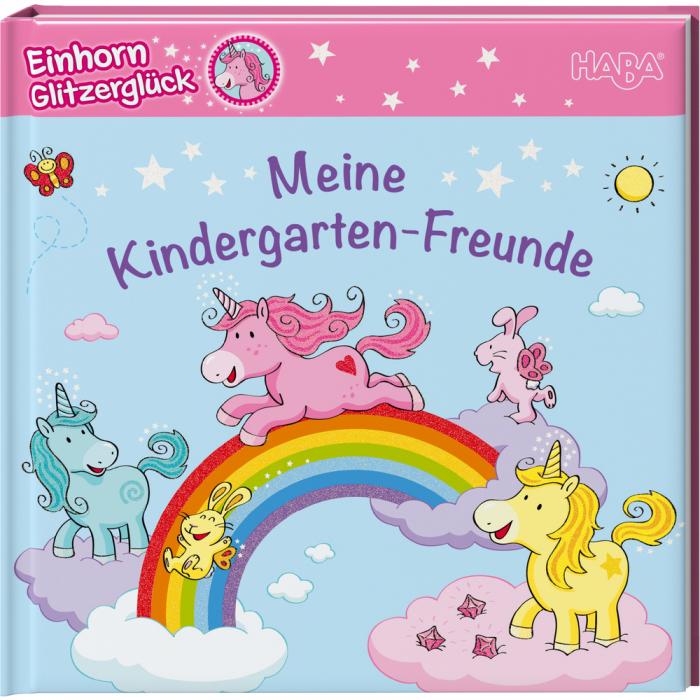 Einhorn Glitzerglück – Meine Kindergarten-Freunde 0