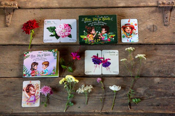 Flori, fete si baieti. Atlasul Botanic al Emotiilor 2