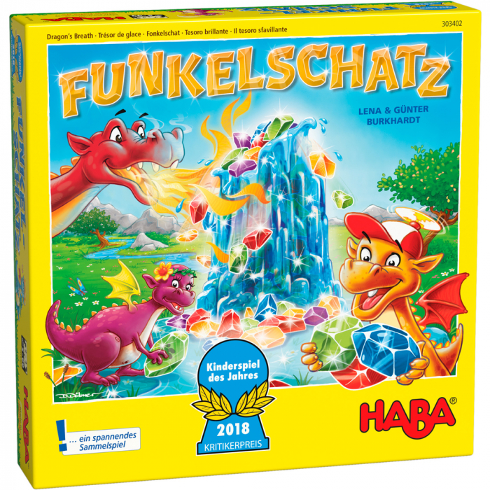 Joc boardgame - Dragon's breath (Funkelschatz) 0