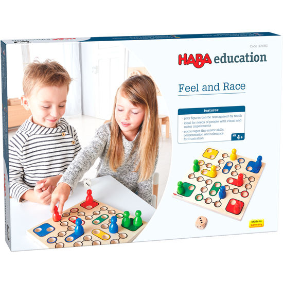 Joc boardgame - Feel and Race 379092 Haba Education 0