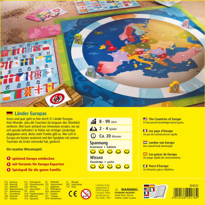 Joc boardgame - Tarile Europei (304532) 2