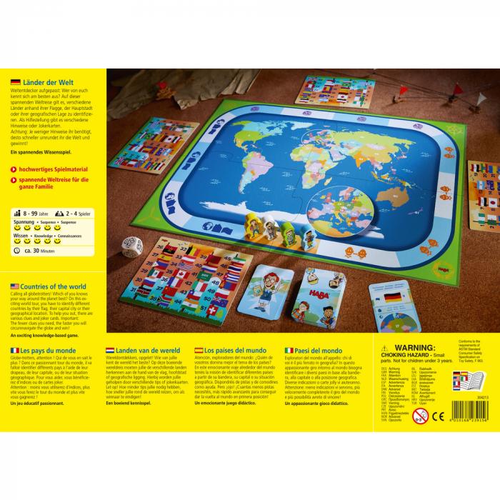 Joc boardgame - Tarile lumii 1