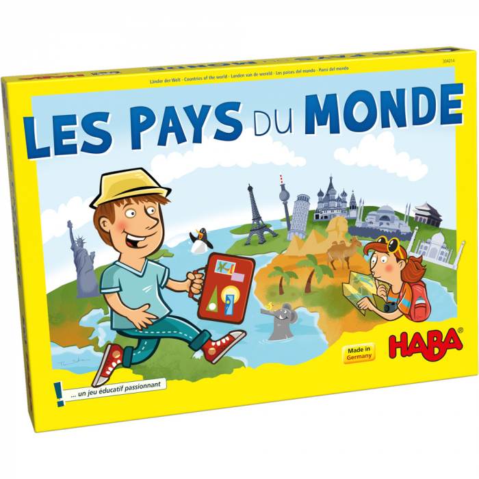 Joc boardgame - Tarile lumii 3