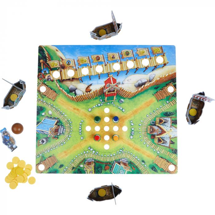 Joc boardgame - Valea Vikingilor 304697 Haba 2