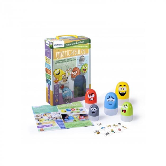 Joc cutiutele cu sentimente 45401 Miniland 0