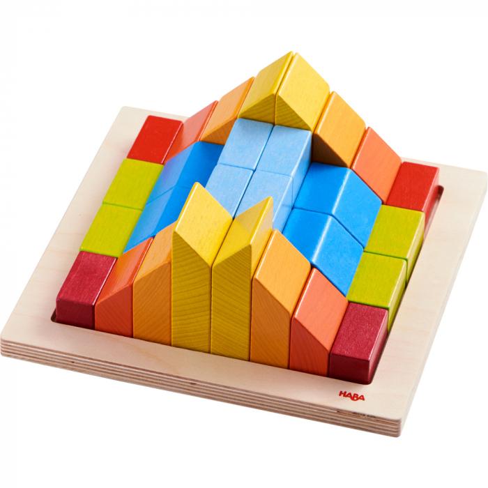 Joc de aranjare 3D - Cuburile creative 1