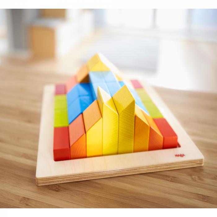 Joc de aranjare 3D - Cuburile creative 5