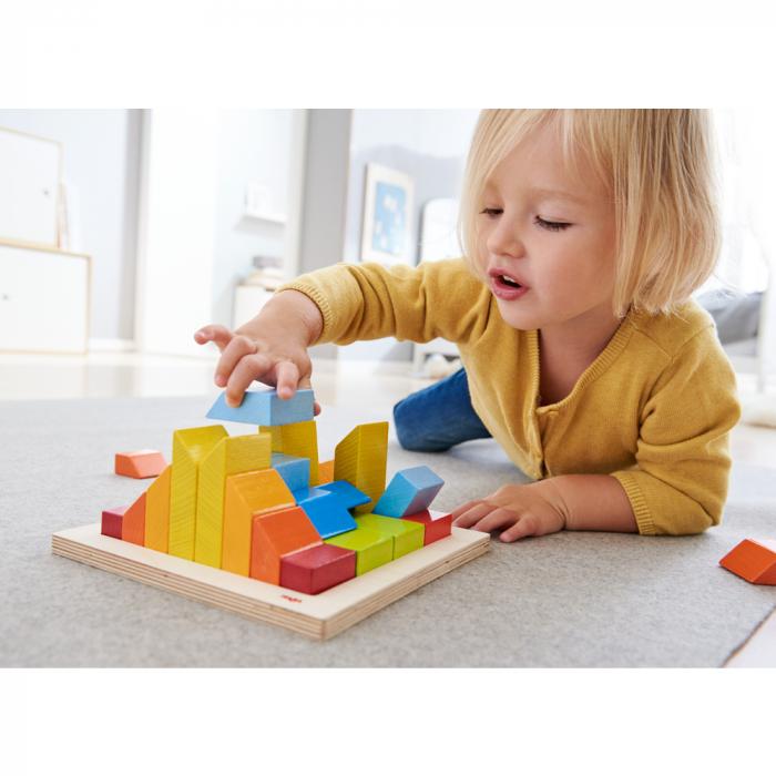 Joc de aranjare 3D - Cuburile creative 0