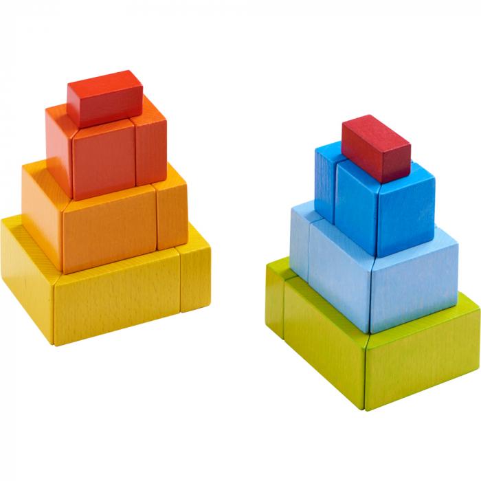Joc de aranjare 3D - Cuburile creative 3