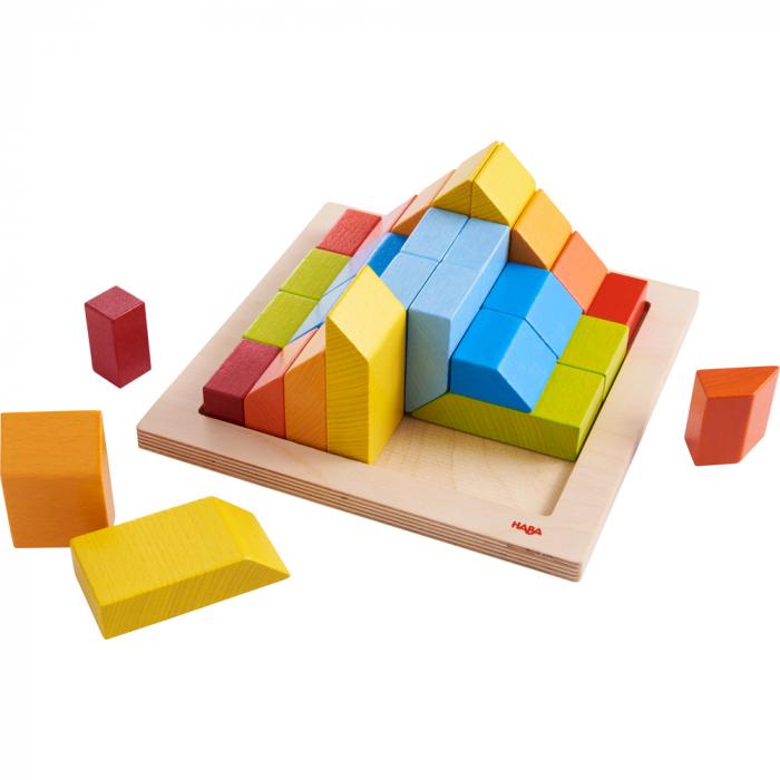Joc de aranjare 3D - Cuburile creative 2
