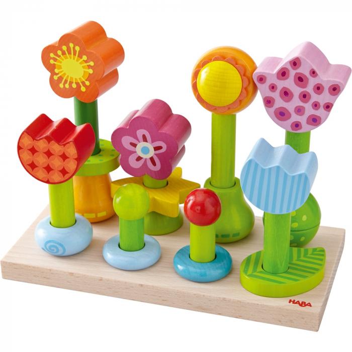 Joc de aranjare - Gradina cu flori 301551 Haba 1
