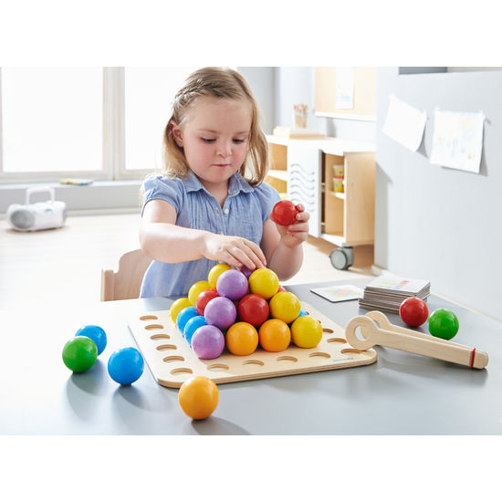 Joc de indemanare - Frobel Marble Game (377052) Haba Education 0