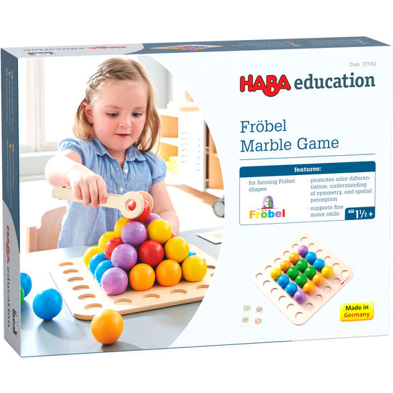 Joc de indemanare - Frobel Marble Game (377052) Haba Education 4