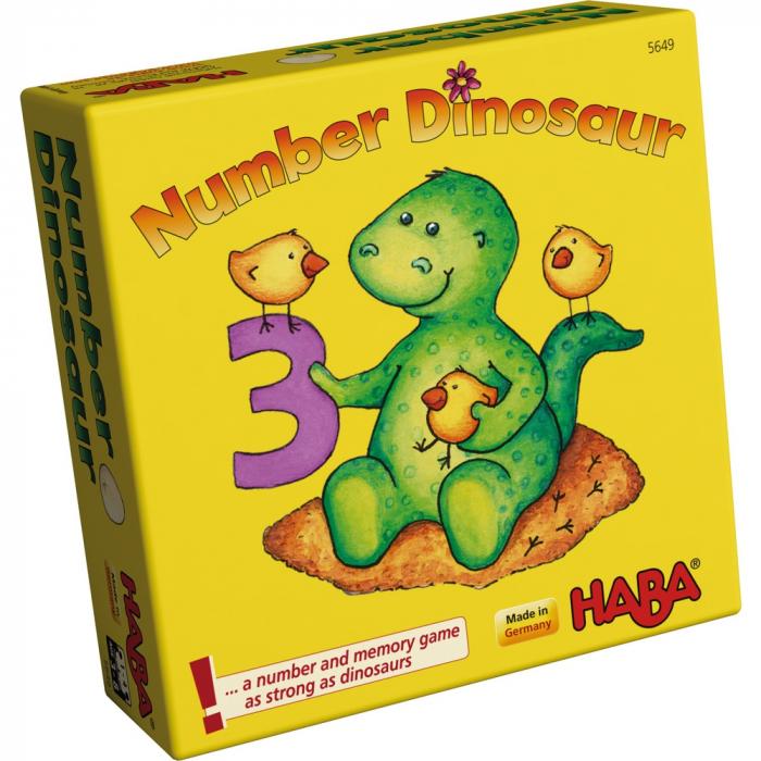 Joc de memorie - Number Dinosaur 0
