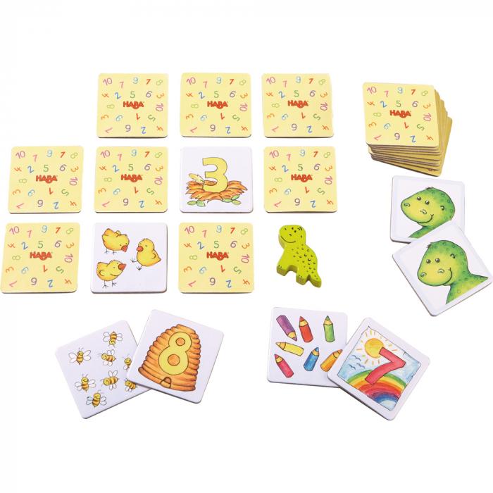 Joc de memorie - Number Dinosaur 1