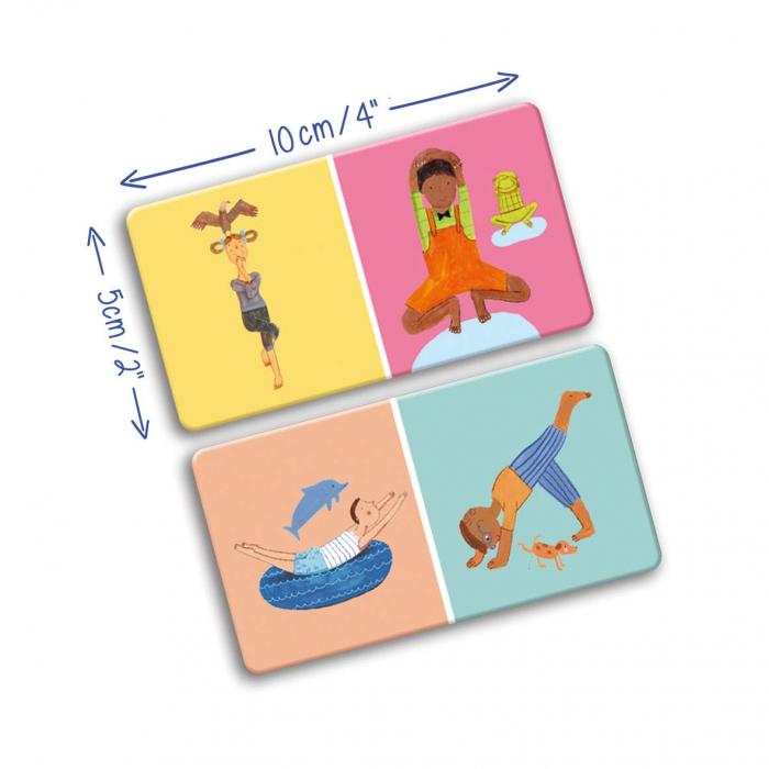 Joc domino - YOGI FUN Domino Yoga 5