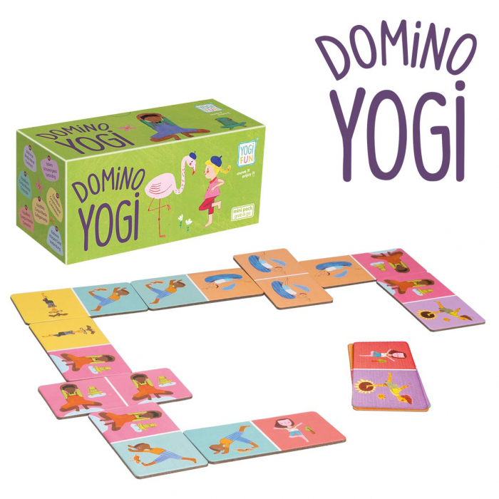 Joc domino - YOGI FUN Domino Yoga 0