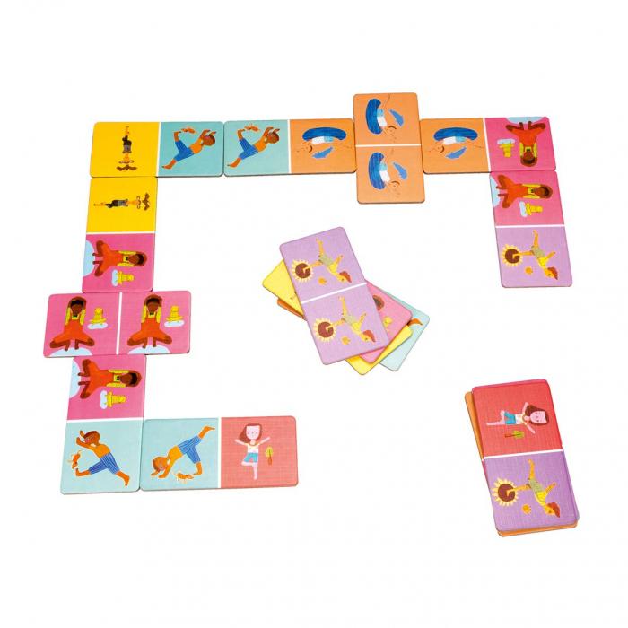 Joc domino - YOGI FUN Domino Yoga 2