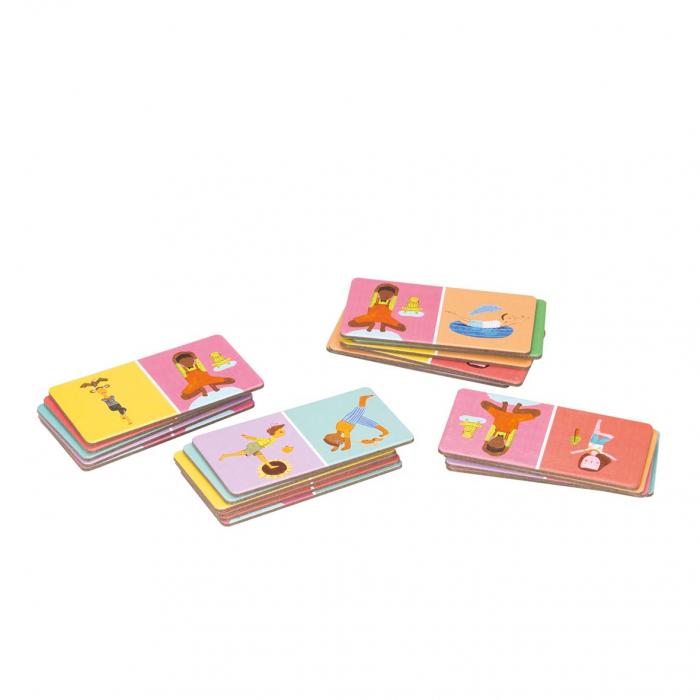 Joc domino - YOGI FUN Domino Yoga 6