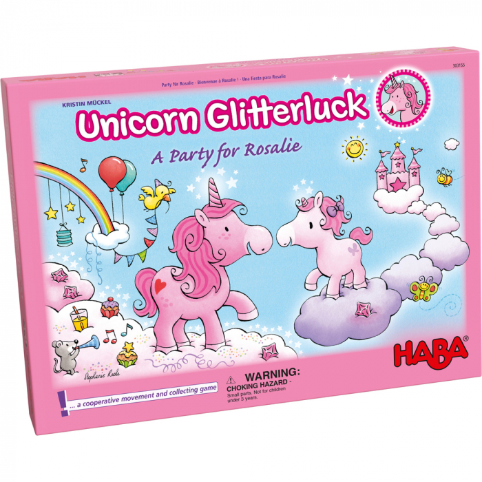 Joc interactiv - Unicorn Glitterluck - Petrecerea lui Rosalie 3