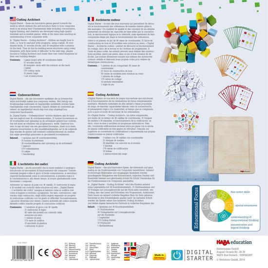 Joc introducere programare - DigitalStarter: Coding Architect 208627 Haba Education 2