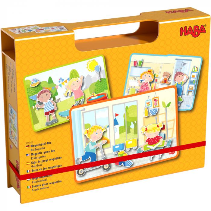 Joc magnetic - La gradinita (HABA) 0
