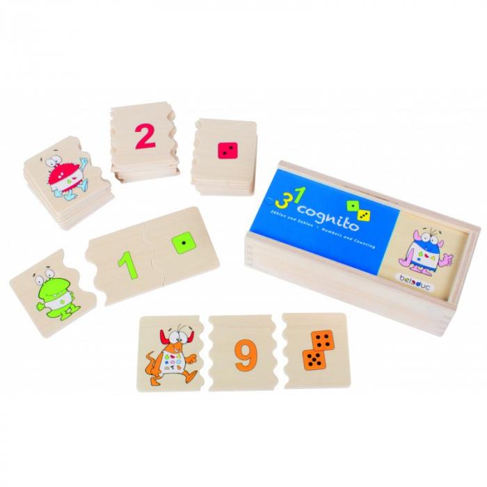 Joc Puzzle Cognito - Recunoaste Numerele 1