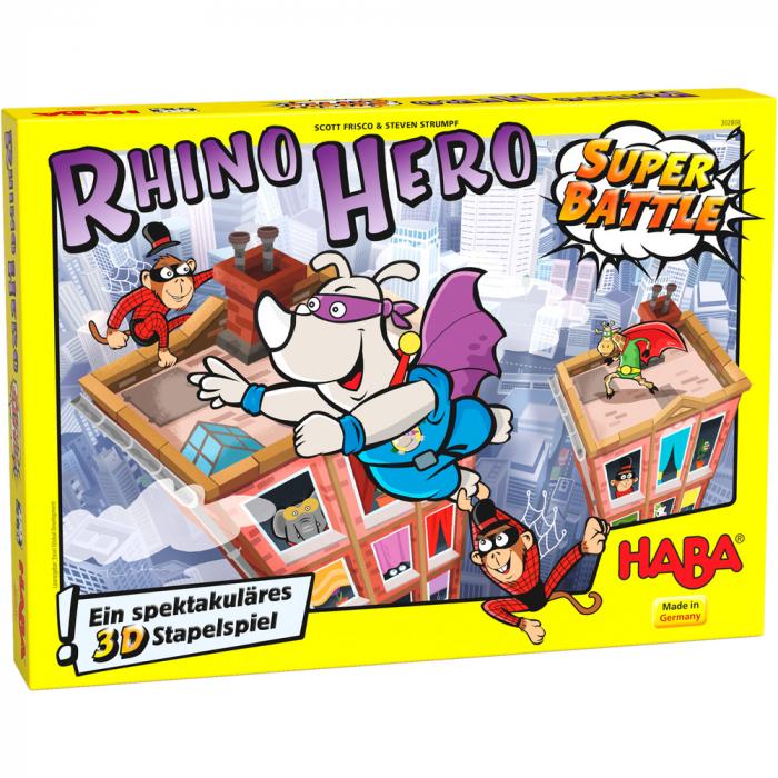 Joc Rhino Hero – Super Battle 1