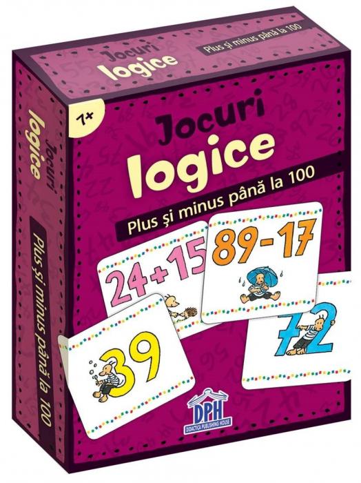 JOCURI LOGICE - PLUS SI MINUS PANA LA 100 0