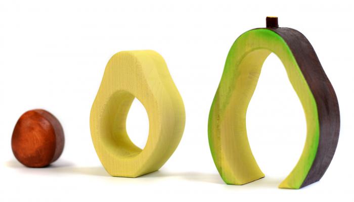 Jucarie pentru stivuit - Avocado 2