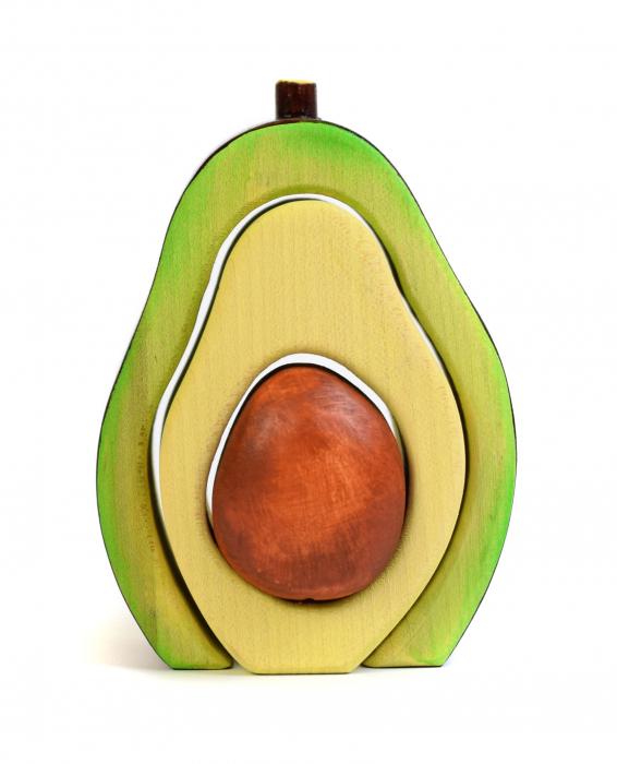 Jucarie pentru stivuit - Avocado 1