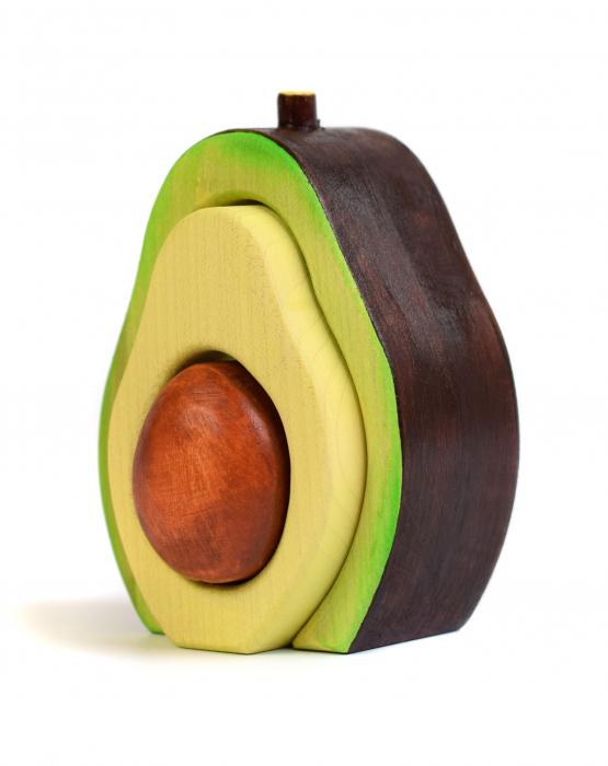 Jucarie pentru stivuit - Avocado 0