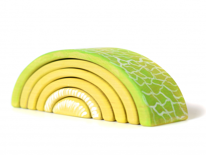 Jucarie pentru stivuit - Pepene galben [1]