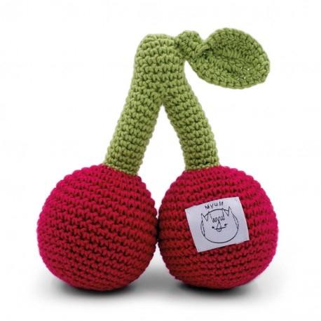 Jucarie tricotata - Ciresele 1