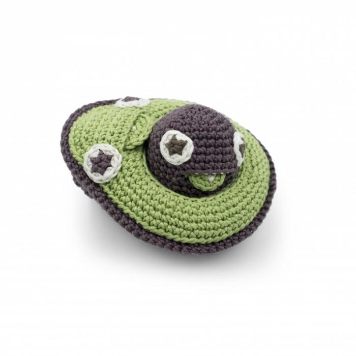 Jucarie tricotata - Mama avocado si bebe 3