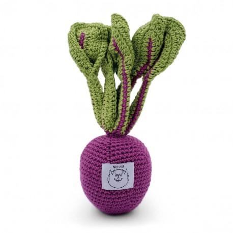 Jucarie tricotata - Sfecla Betty 2
