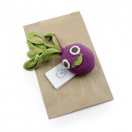Jucarie tricotata - Sfecla Betty 3