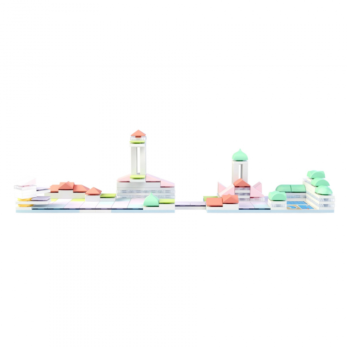 Kit constructie arhitectura - Cityscape+, 160 piece Architectural Model Kit 4