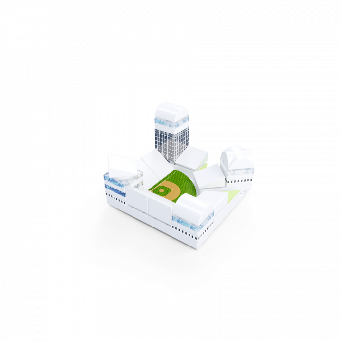 Kit constructie arhitectura - Masterplan 400+ piece Architectural Model Kit 3