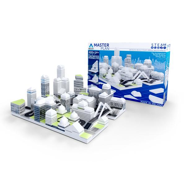 Kit constructie arhitectura - Masterplan 400+ piece Architectural Model Kit 1