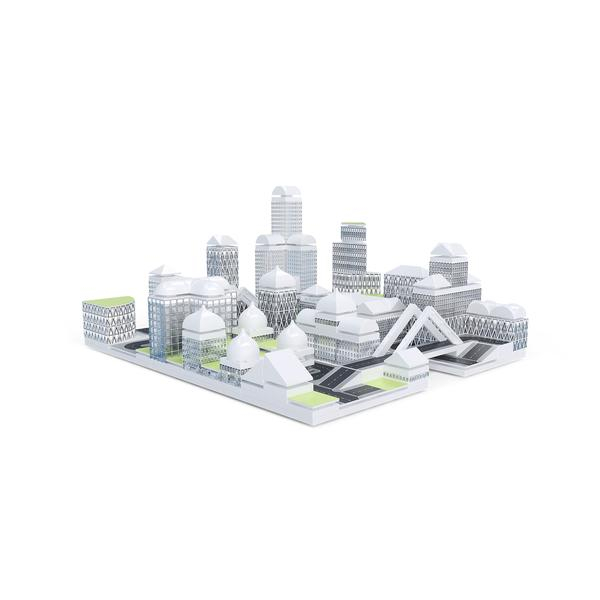 Kit constructie arhitectura - Masterplan 400+ piece Architectural Model Kit 0