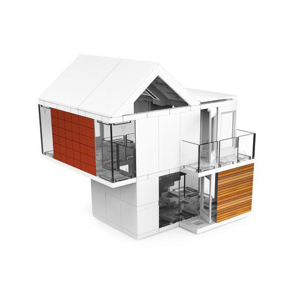 Kit constructie arhitectura - 220 piece Architectural Model Kit - Arckit 60 0