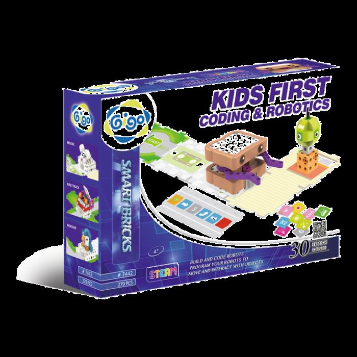 Kit robot programbil - Kids First Coding & Robotics 7442 GIGO 0