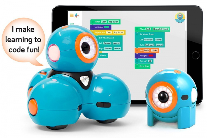 Kit roboti programabili Dash & Dot - Wonder Workshop 1