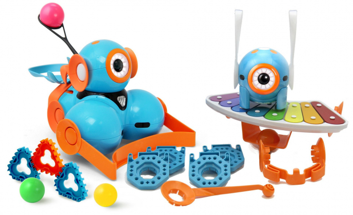Kit roboti programabili Dash & Dot - Wonder Workshop 0