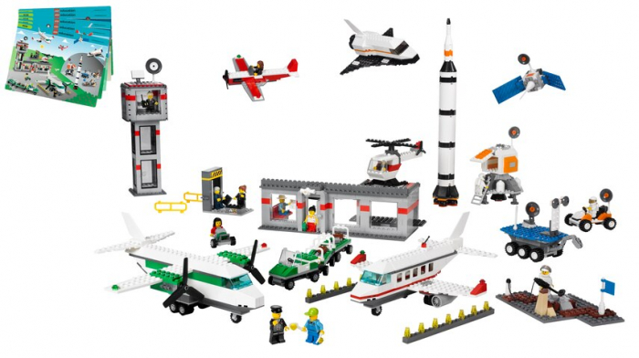 LEGO EDUCATION SPACE AND AIRPORT SET 1